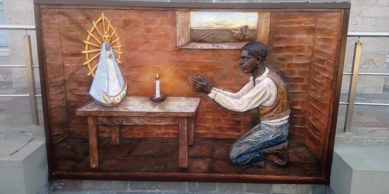 Restauración Del Mural Del Negrito Manuel