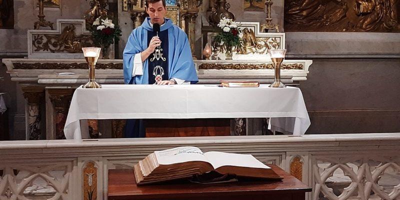 Acción De Gracias Por El Inicio Del Ministerio Pastoral Del Padre Lucas García Junto Al Nuevo Equipo Del Santuario De Luján